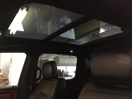 Truck Window Tinting